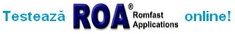 Testeaza ROA online